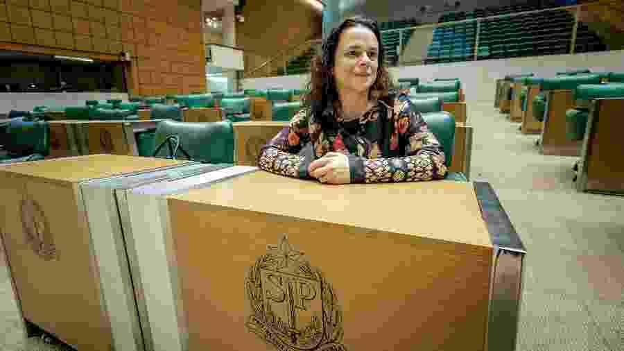 Janaina Paschoal quer evitar uma disputa que desgaste a direita em São Paulo - Mariana Pekin/UOL