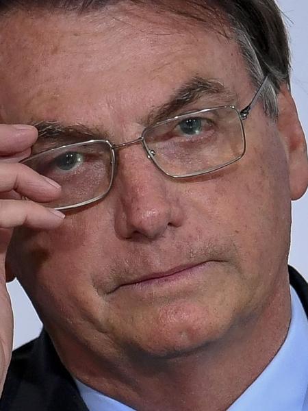 Jair Bolsonaro no lançamento da Agenda + Brasil - Mateus Bonomi/AGIF