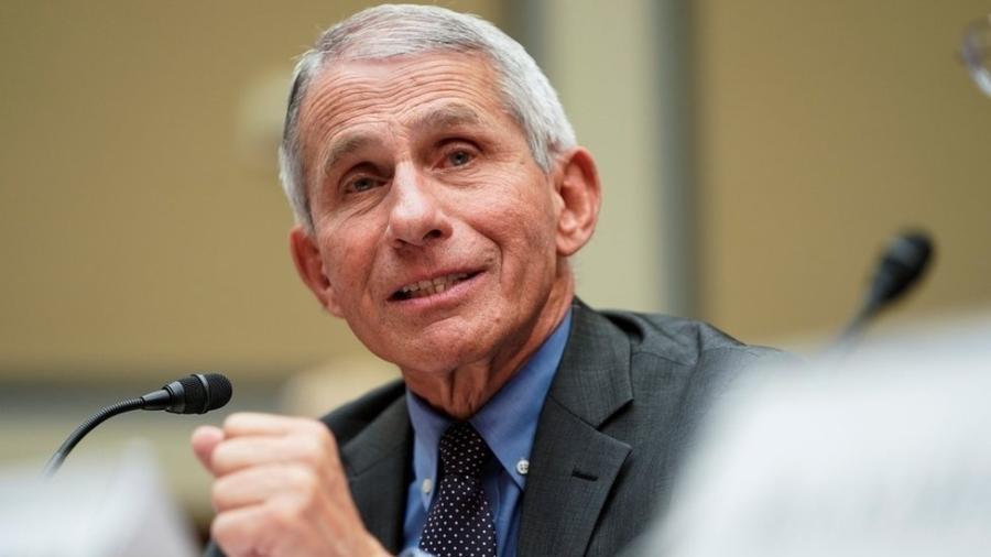 O médico Anthony Fauci falou sobre críticas da Casa Branca - Reuters via BBC