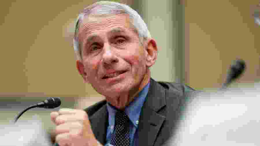 O médico Anthony Fauci é a maior autoridade em doenças infecciosas nos EUA - Reuters via BBC