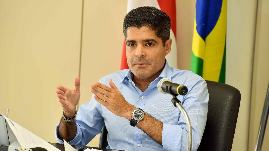 O presidente do DEM, ACM Neto, avisou o governador João Doria que, se ele insistir em filiar o vice, Rodrigo Garcia, ao PSDB, as negociações entre os dois partidos para 2022 estarão encerradas - Valter Pontes/Secom