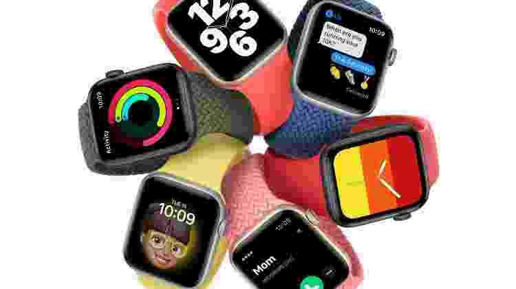 Apple Watch SE - Divulgação - Divulgação