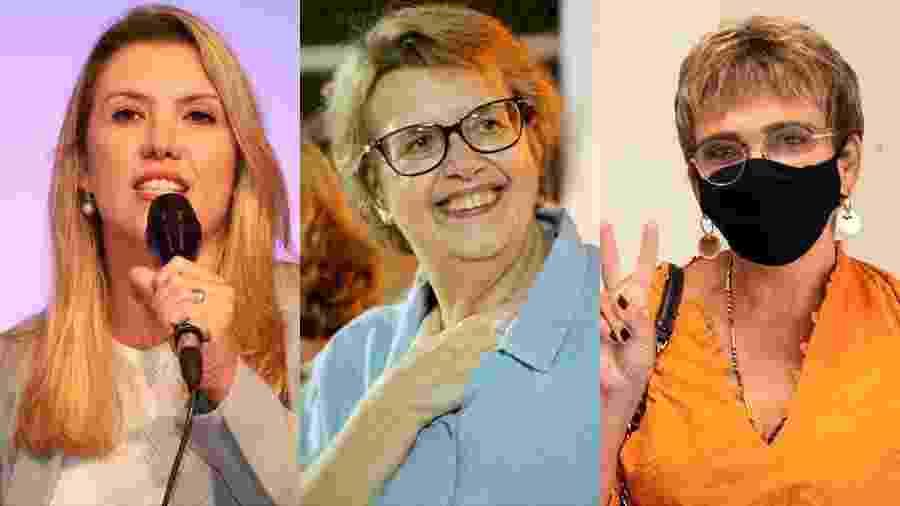 Margarida Salomão, Marília Campos e Elisa Araújo - Arte/UOL