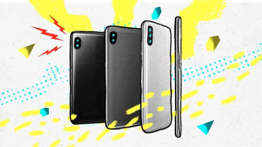 Entenda quais são as linhas das principais fabricantes que atuam no Brasil para escolher o celular ideal para você - Arte UOL
