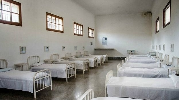 4.jan.2016 - Fidel Castro e seus companheiros estiveram no presídio entre 1953 e 1955. No entanto, eles foram mantidos nos pavilhões do hospital, separados do resto dos presidiários