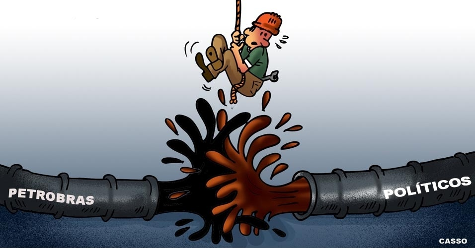 20.jun.2016 - O ex-presidente da Transpetro e delator da Operação Lava Jato Sérgio Machado mostra como os dutos da Petrobras encontravam o escoamento de lama da política de Brasília