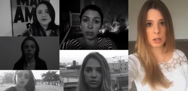 Vídeo que incentiva a campanha #jornalistascontraoassédio - Reprodução