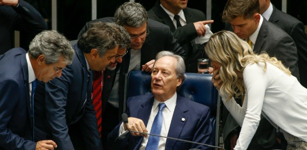 Lewandowski interrompe sessão por meia hora após discursos - Pedro Ladeira/ Folhapress