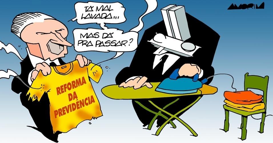 11.set.2016 - Michel Temer está na dúvida: dá para passar a reforma da Previdência?