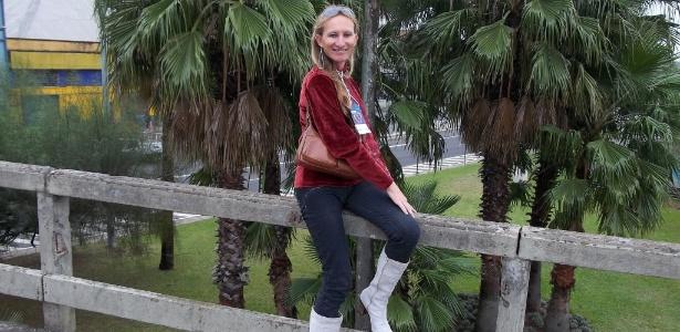 A ativista transexual Jennifer Celia Henrique, que foi morta a pauladas no último dia 10 no bairro dos Ingleses, em Florianópolis