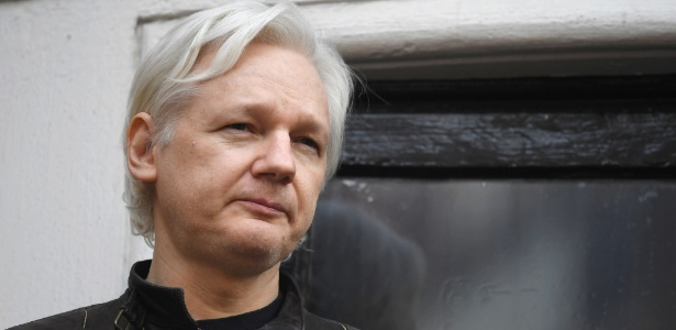 O fundador do WikiLeaks, Julian Assange