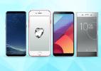 Apple, Samsung, LG, Sony... Quem tem o melhor celular top de linha? (Foto: Arte/UOL)