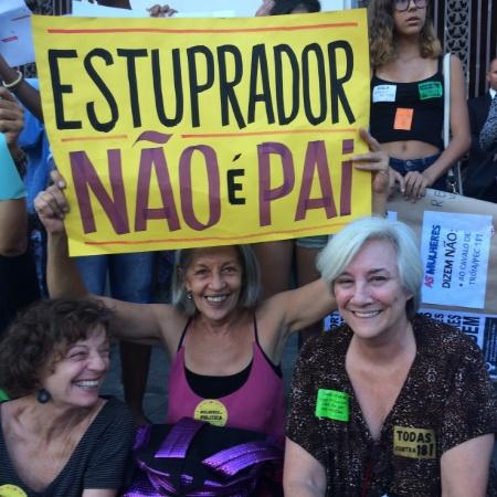 Mulheres participam de manifestação contra proibição do aborto legal no Brasil  - Marina Lang/UOL