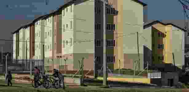 Conjunto habitacional em São José dos Campos, interior de São Paulo - Lucas Lacaz Ruiz/A13/Folhapress