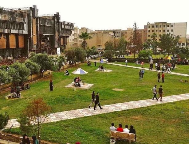 Universidade de Mossul ainda carrega as cicatrizes da guerra e da ocupação - BBC