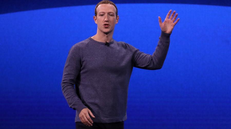 Zuckerberg anunciou novidades para o futuro do Facebook, Instagram e Messenger - Justin Sullivan/Getty Images/AFP