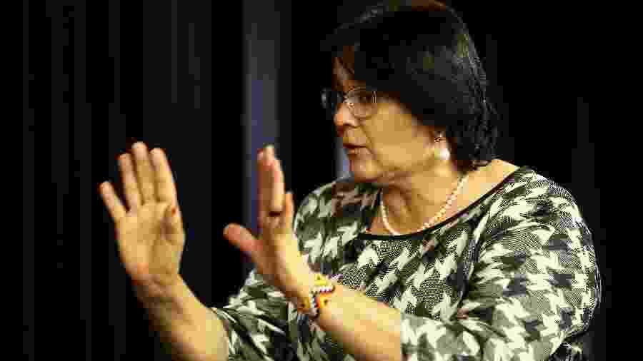 A ministra da Mulher, da Família e dos Direitos Humanos, Damares Alves - Pedro Ladeira/Folhapress