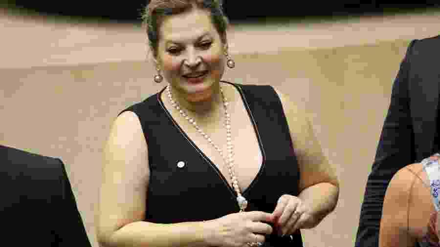 A deputada federal Joice Hasselmann (PSL-SP) - Fátima Meira/Futura Press/Estadão Conteúdo