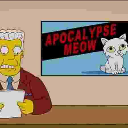 Imagem verdadeira de Os Simpsons: série não previu coronavírus - Reprodução