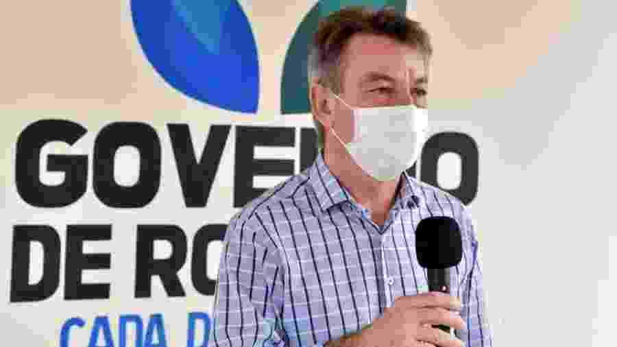 O governador de Roraima, Antonio Denarium (sem partido) - Reprodução/Facebook