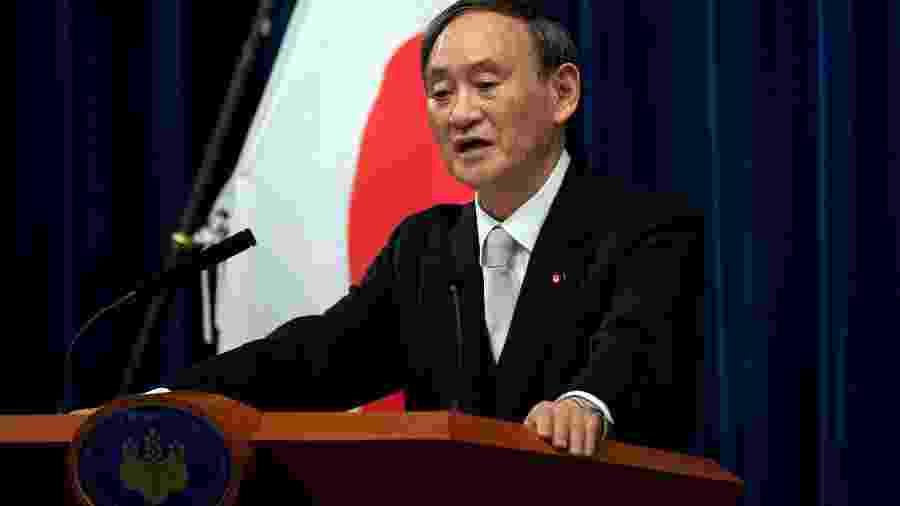 Primeiro-ministro do Japão, Yoshihide Suga, falou sobre a Olimpíada de Tóquio -