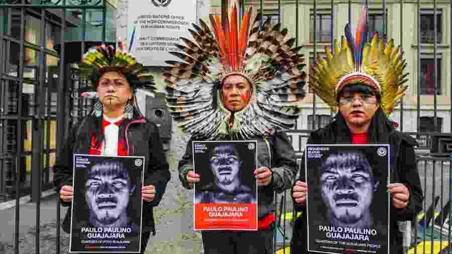 APIB é premiada por campanha na Europa denunciando violência contra povos indígenas do Brasil - Imagem cedida ao UOL