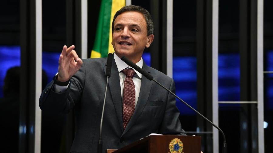 O senador Márcio Bittar (MDB-AC), relator da PEC Emergencial no Congresso - Jefferson Rudy/Agência Senado