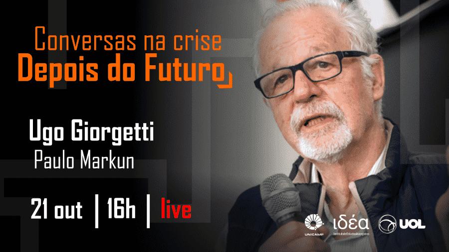 Ugo Giorgetti no Conversas na Crise - Arte/IdEA-Unicamp