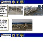 Laudos do ICRIM (Instituto de Criminalística do Maranhão) apontam três fatores que causaram a queda das gôndolas no mercado Mix Mateus, no Maranhão, em outubro de 2020 - Divulgação/ICRIM