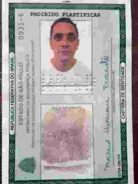 O preso Márcio Henrique Evaristo, 53, o Nenê Coqueirão, integrante do PCC (Primeiro Comando da Capital) - Divulgação/SAP - Divulgação/SAP