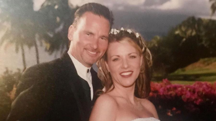 Lori Vallow Daybell e o ex-marido Joseph Ryan  - Reprodução