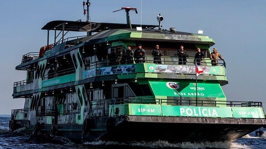 Base Fluvial do Arpão ajuda no combate ao tráfico e ao contrabando no Amazonas - Divulgação