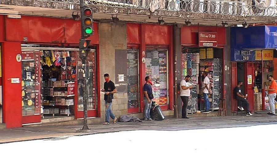 Loja de bijuterias no centro de Belo Horizonte onde os crimes ocorreram - Daniela Mallmann/Colaboração para o UOL