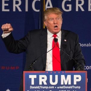 O pré-candidato republicano Donald Trump