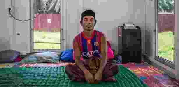 1º.jun.2016 - Mohammed Salim, da etnia rohingya, em campo de refugiados na Indonésia; ele ainda procura um país que possa o acolher - Kemal Jufri/The New York Times - Kemal Jufri/The New York Times