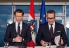 Extrema-direita comandará 6 ministérios na Áustria, incluindo Defesa, Interior e Relações Exteriores - ALEX HALADA/AFP