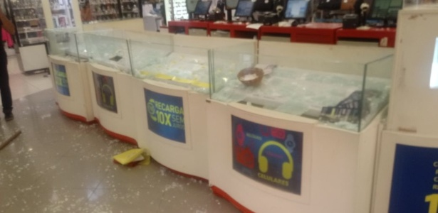PM está há 10 dias parada no RN; houve arrastão em lojas do centro de Natal