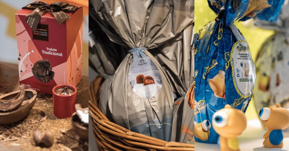 Lançamentos ovos de Páscoa 2018