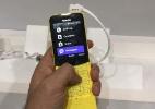 Nokia 8110 com visual de banana chega neste mês em países da Ásia (Foto: Márcio Padrão/UOL)