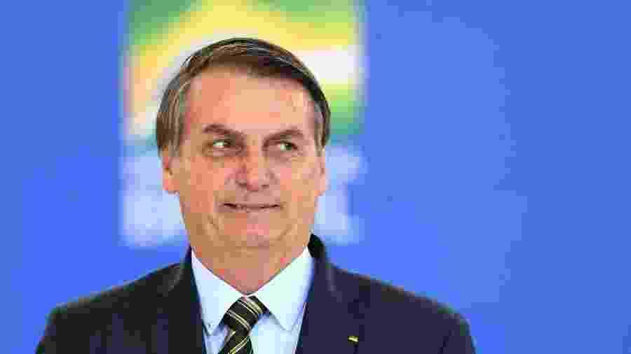 Declarações foram dadas em cerimônia no Palácio do Planalto, onde presidente empossou os novos ministros da Casa Civil e da Cidadania - Evaristp Sá - 9.dez.19/AFP