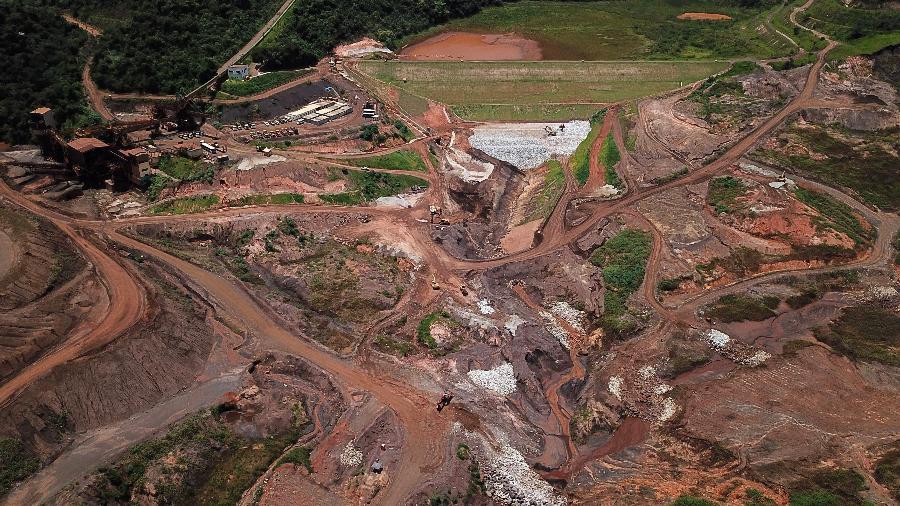 Novos termos financeiros para reparação socioeconômica e socioambiental foram definidas para Brumadinho - Douglas Magno / AFP