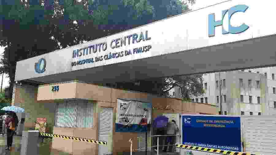 Hospital das Clínicas da Faculdade de Medicina da USP seria um dos hospitais com escassez de insumos básicos - Rivaldo Gomes/Folhapress