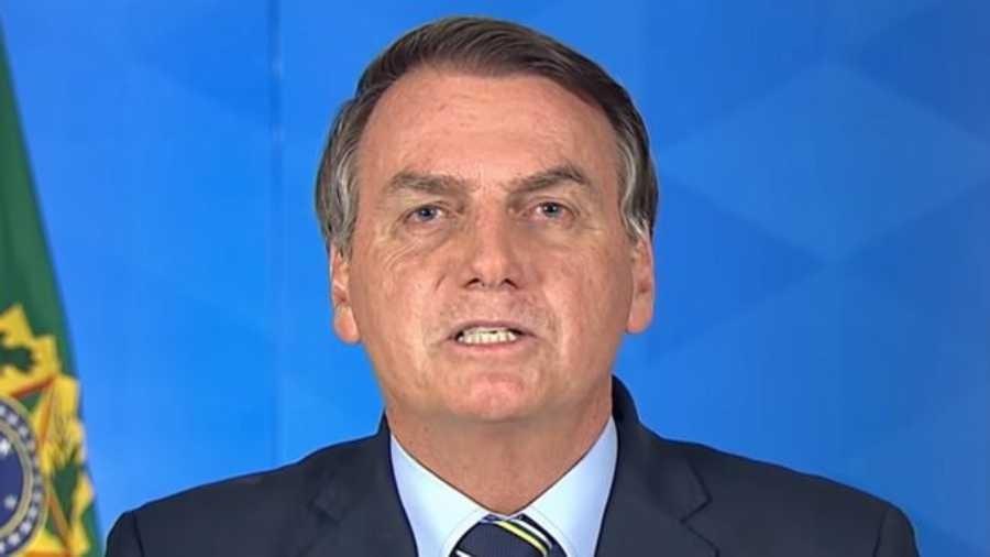 Pronunciamento de Bolsonaro em rede nacional provocou uma série de críticas de autoridades - Reprodução/Palácio Do Planalto