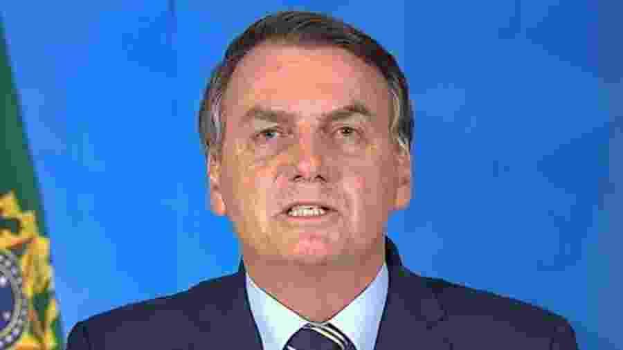 Pronunciamento de Bolsonaro em rede nacional provocou uma série de críticas - Reprodução/Palácio Do Planalto