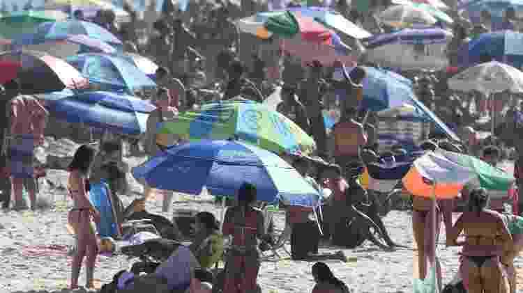 Praia lotada - Wilton Júnior/Estadão Conteúdo - Wilton Júnior/Estadão Conteúdo