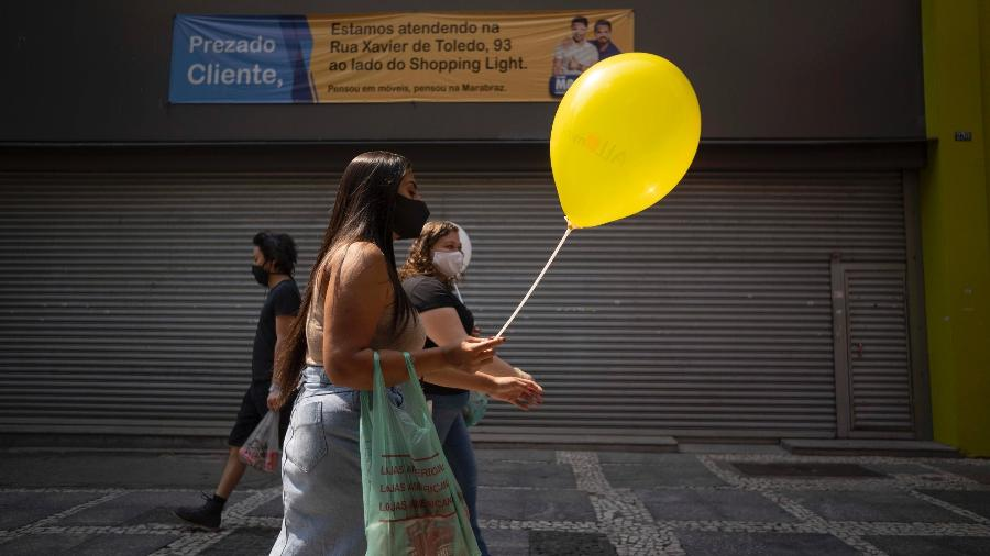 A OPAS advertiu que o relaxamento de medidas sanitárias pode reverter a melhora - Andre Porto/UOL