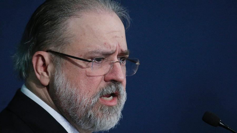 O procurador-geral da República, Augusto Aras, disse que pode pedir investigação formal ao STF - Dida Sampaio/Estadão Conteúdo