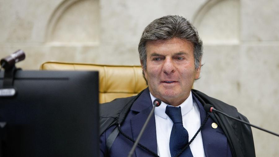 Presidente do STF, ministro Luiz Fux, durante sessão de abertura da CPI da Covid-19 - Fellipe Sampaio/STF