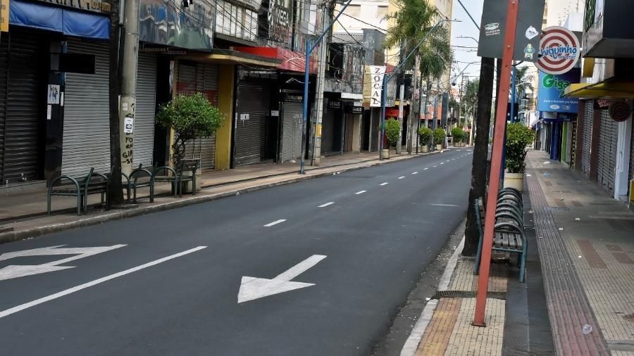 Araraquara decretou lockdown de domingo até o dia 27 para evitar o aumento de contágio do coronavírus - Divulgação/Prefeitura Araraquara