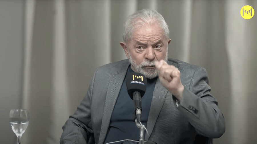 """""""Se a gente eleger presidente, é preciso deputados e senadores que ajudem a gente a fazer as coisas que precisam ser feitas no Senado"""", afirmou Lula. - Reprodução"""